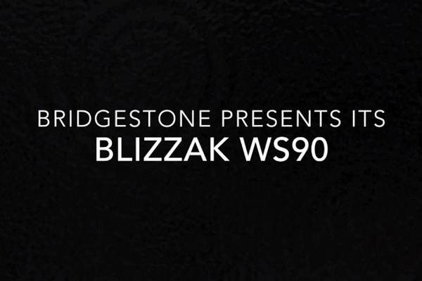 The Bridgestone submitted the new Blizzak WS90 snow tires