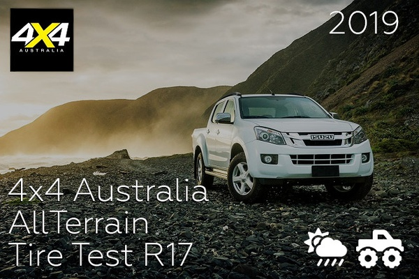 4x4 Australia: All-Terrain Tire Test R17