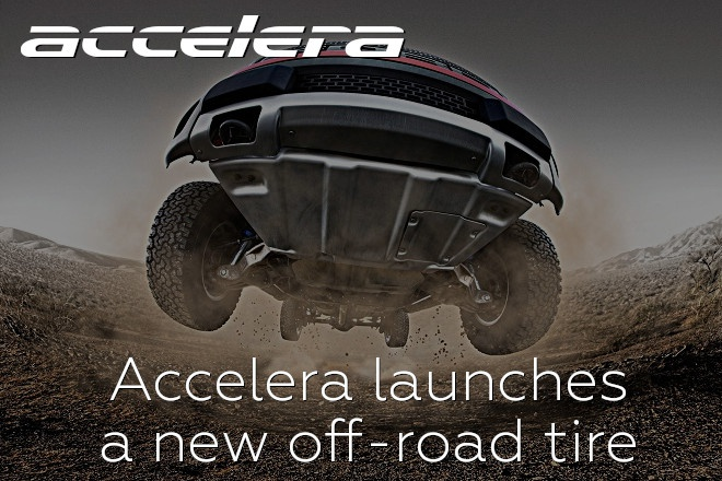 Accelera launches a new off-road tire