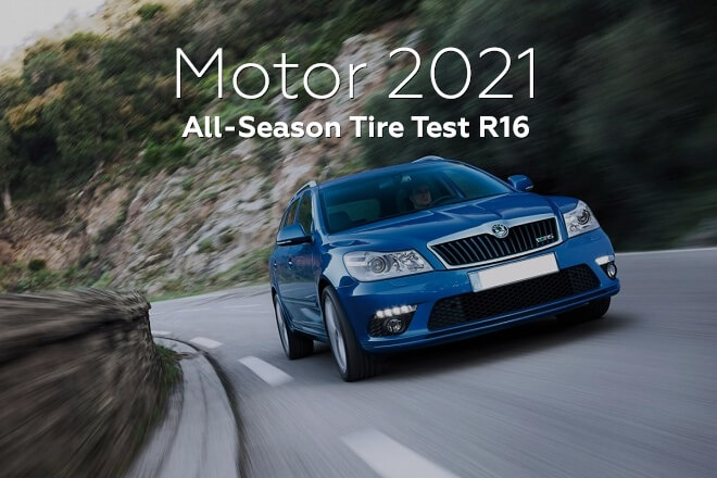 Motor 2021: All-Season Tire Test R16