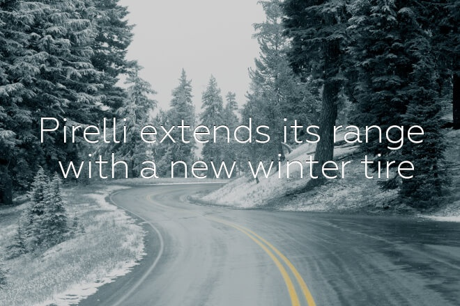 Pirelli extends its range with a new winter tire