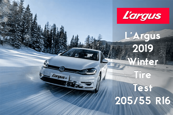 L'Argus 2019: Winter Tire Test