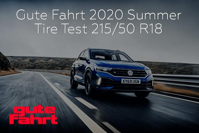Gute Fahrt 2020: Compact SUV Summer Tire Test - 215/50 R18