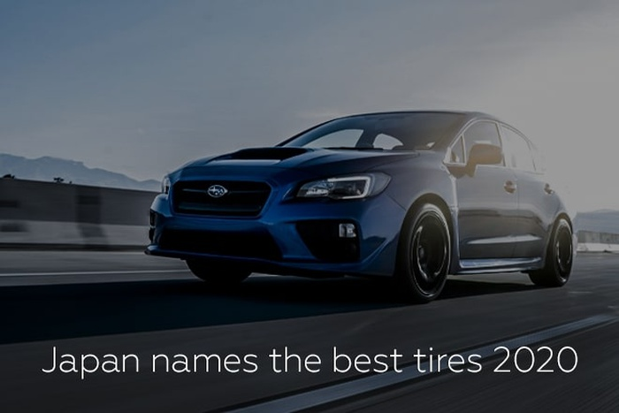 Japan names the best tires 2020