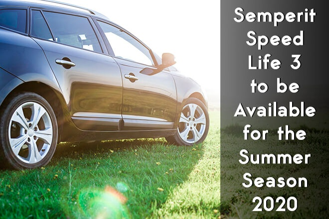 Semperit Speed-Life 3 to be Available for the Summer Season 2020