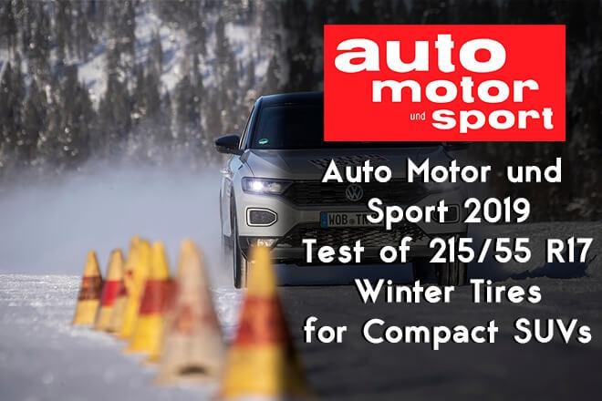 Auto Motor und Sport 2019: Winter Tire Test for Compact SUVs - 215/55 R17