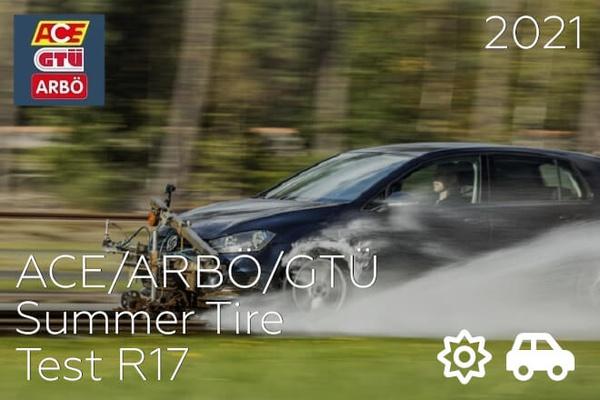 ACE/ARBÖ/GTÜ: Summer Tire Test  R17