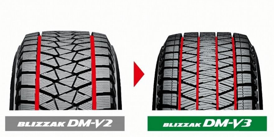 BridgestoneBlizzak DM-V2 /Blizzak DM-V3