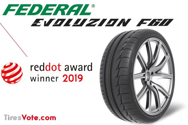 Federal Tire's Evolouzion F60 Wins Red Dot Award