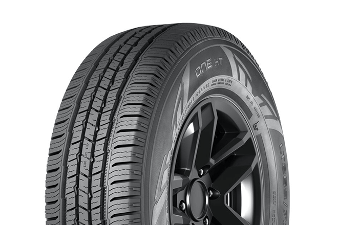 Nokian One HT tread pattern