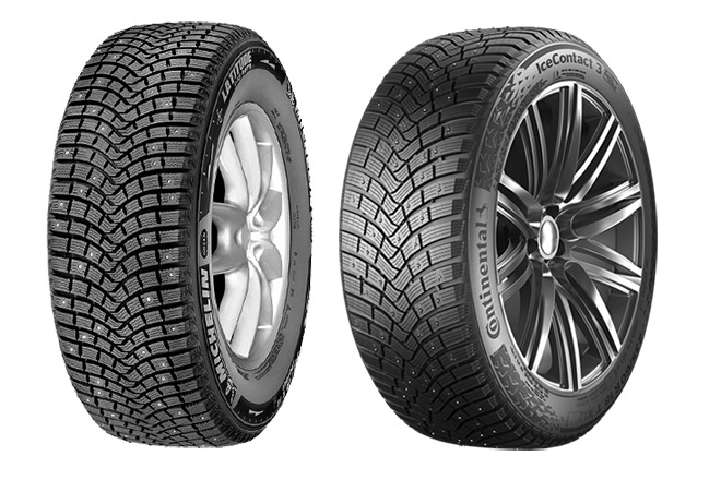 Michelin X–Ice North 2 / Continental IceContact 3
