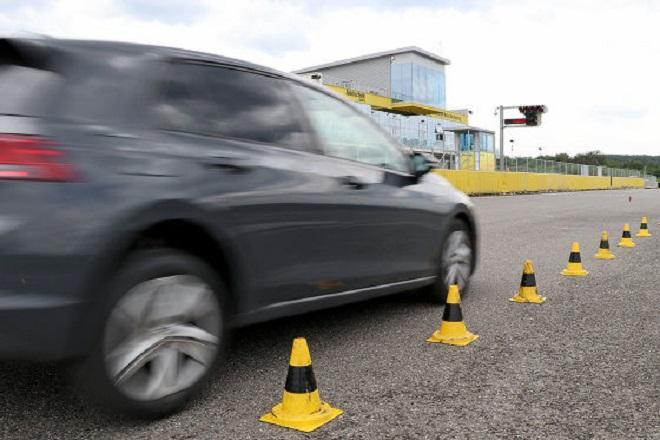Test discipline: dry braking