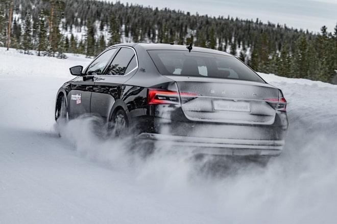 Test Discipline: Snow Handling. Source: Moottori.