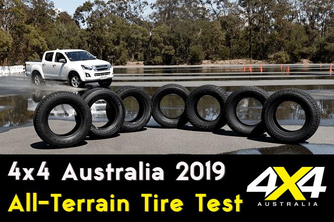 4x4 Australia 2019 All-Terrain Tire Test