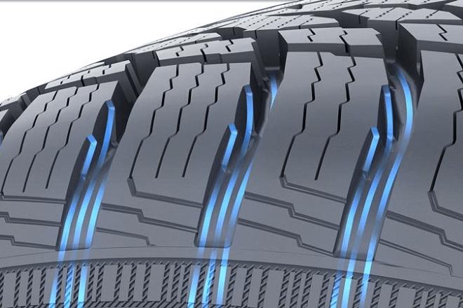 Polished drainage grooves