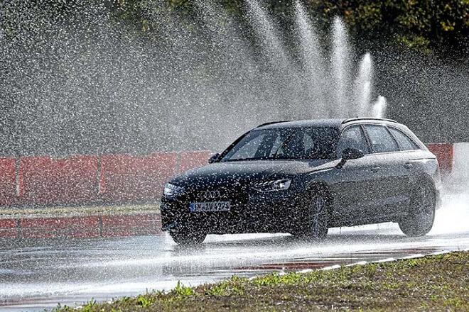 Test discipline: wet handling