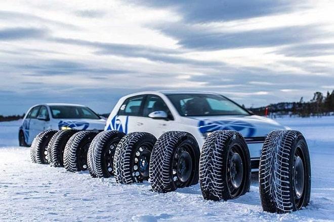 Test World 2020: Winter Tire Test. Tires.