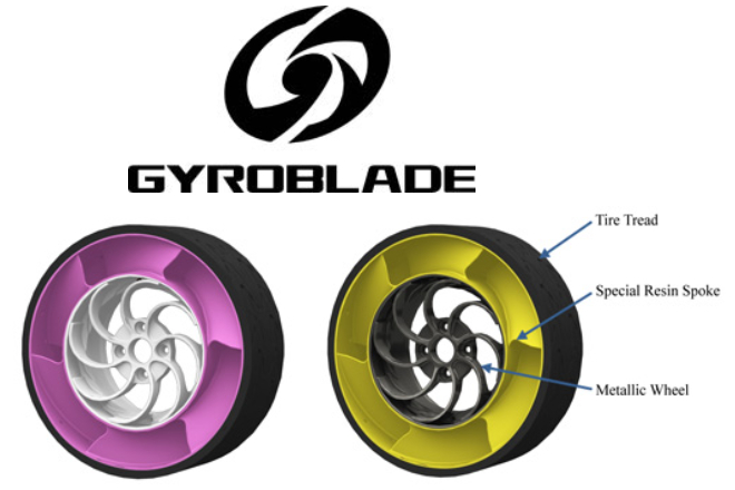 GYROBLADE «airless tire» technology