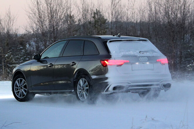 The tests on snow were carried out in Ivalo, Finland. Source: ADAC.
