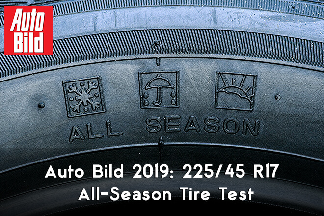 Auto Bild 2019 All-Season Tire Test - 225/45 R17
