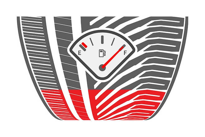 The improved tyre tread geometry leads to reduced wear. This increases mileage and reduces fuel consumption.