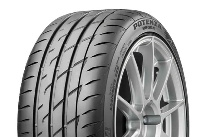 Potenza RE004 tread pattern