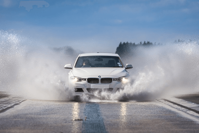 Auto Bild 2020: wet braking