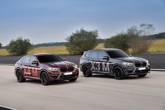 BMW X3 Mand X4 M