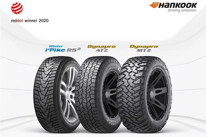Three Hankook Tires Win Red Dot 2020 Award