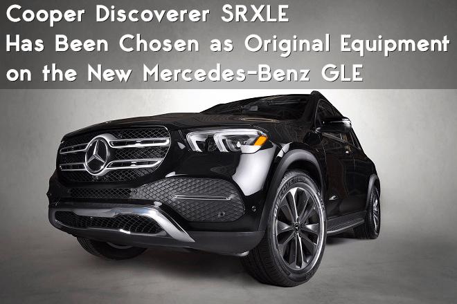 Cooper Discoverer SRXLE onthe new luxurious SUV Mercedes-Benz GLE