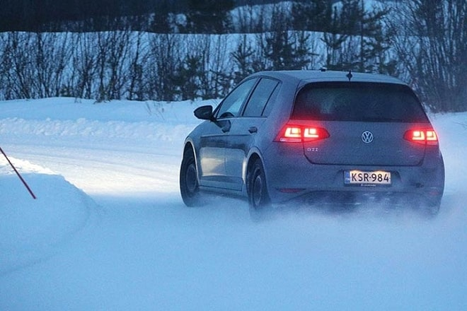 Test Discipline: Handling on Snow.
