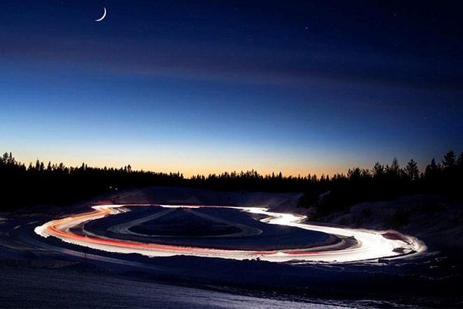 test track inSmaland, Sweden