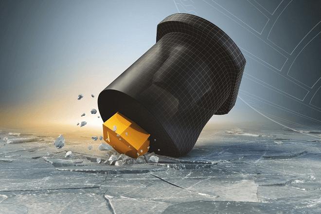 Innovative rubber-coated studs ContiFlexStud