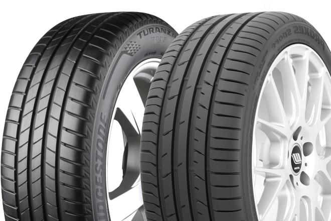 Toyo Proxes Sport /Bridgestone Turanza T005