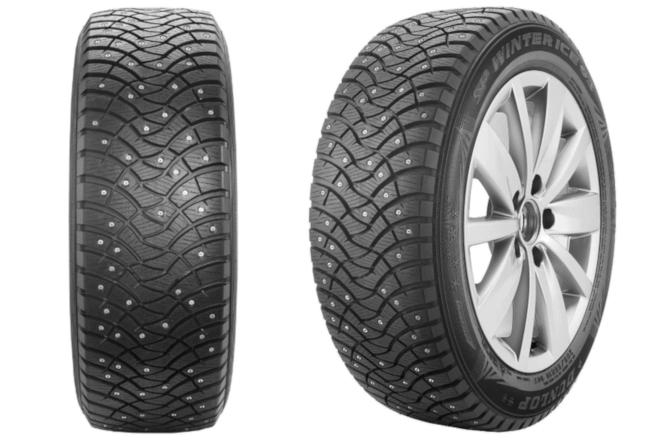 Dunlop SPWinter Ice 03 and Grandtrek Ice 03