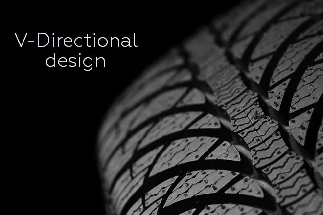 V-Directional design