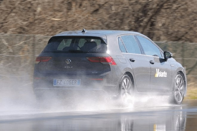 Test Discipline: Wet Braking