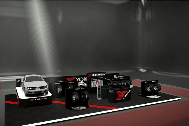 Yokohama booth at Geneva Motor Show (2019)