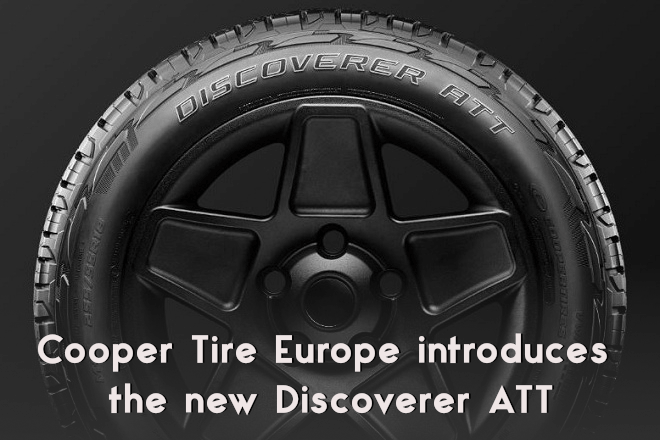 Cooper Tire Europe introduces the new Discoverer ATT