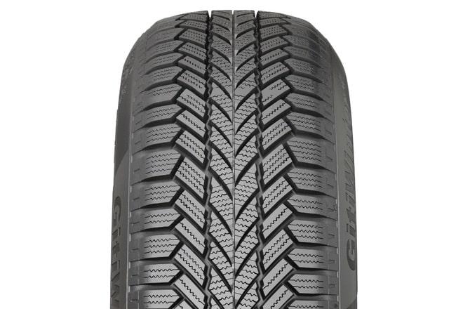 The Giti Winter W1 tread design (closeup)