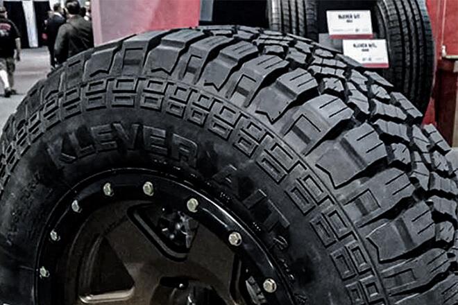 Kenda KR628 atGlobal Tire Expo 2019 inLas Vegas