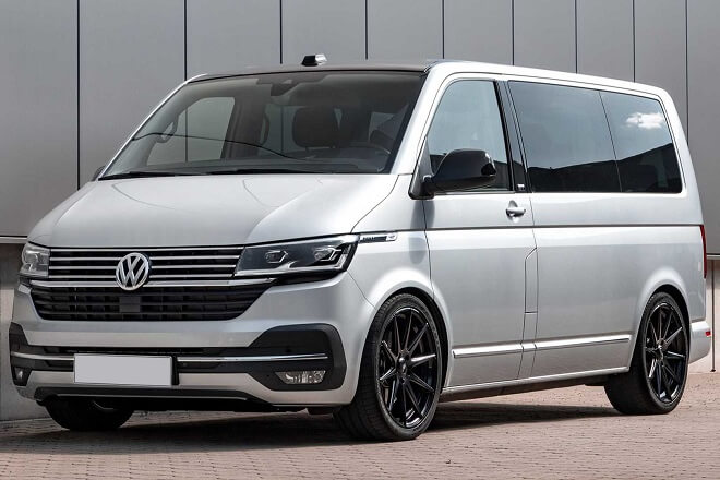 The tires were tested using Volkswagen T6.1.