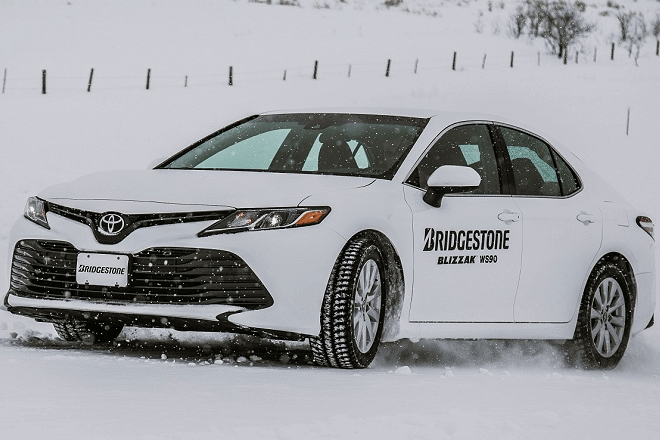 Bridgestone's Blizzak WS90 at its Winter Driving School in Steamboat Springs, Colorado.