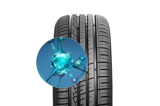 Hybrid rubber compound
