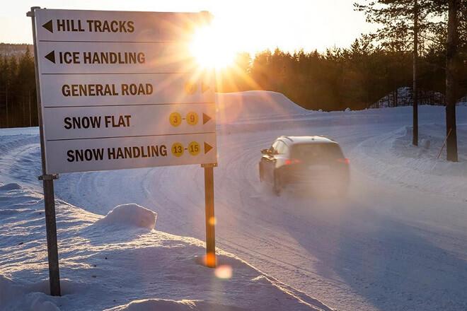 Snow road Vi Bilagare.
