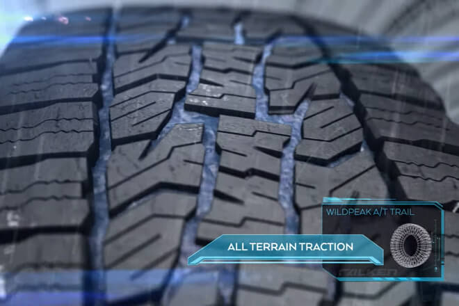 All terrain traction