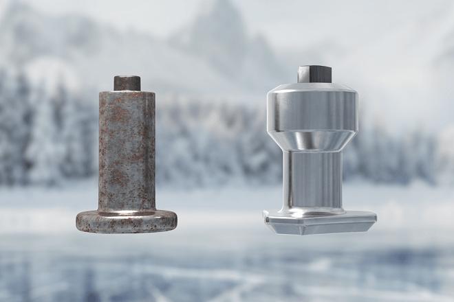Nokian «arctic» stud technology