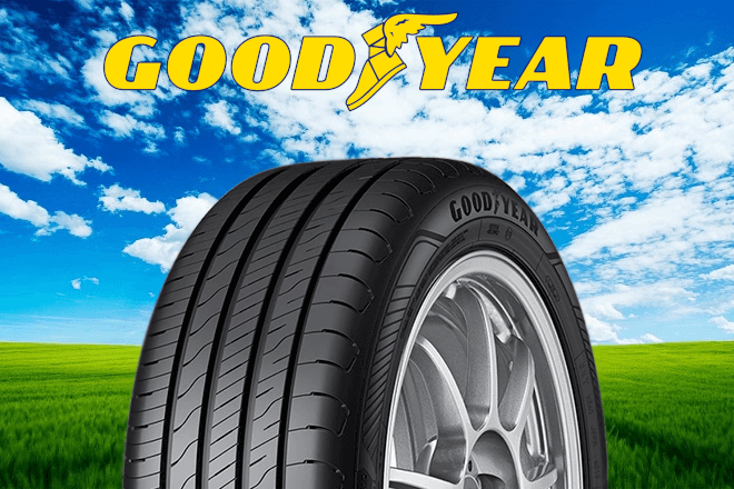 New Summer tires 2020 Goodyear