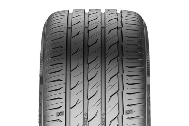 The tread pattern of Semperit Speed-Life 3