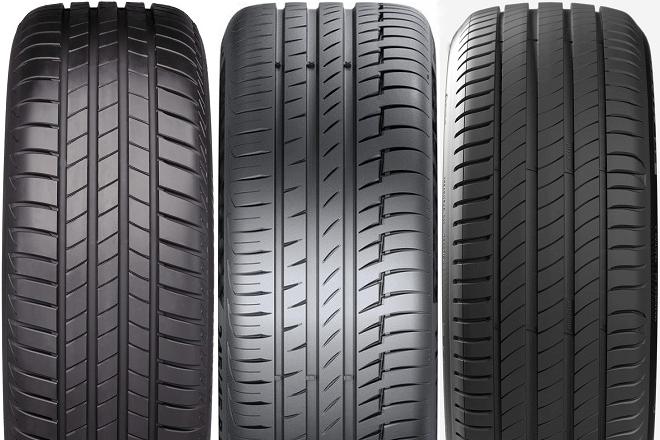 Bridgestone Turanza T005 / Continental PremiumContact 6 / Michelin Primacy 4